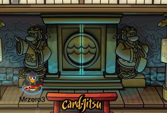 The Club Penguin Water Dojo Entrance