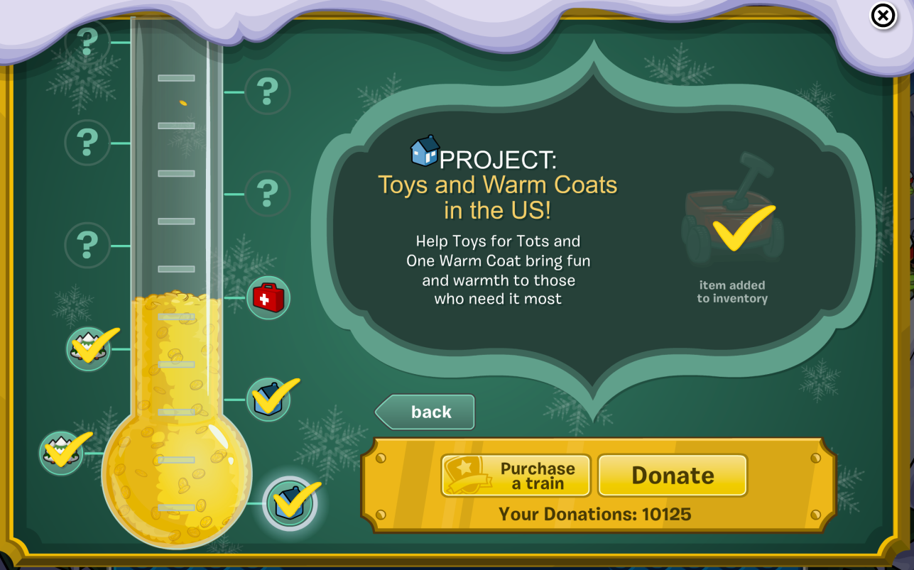 Club Penguin: Coins for Change 2013: Free Items for Donating!