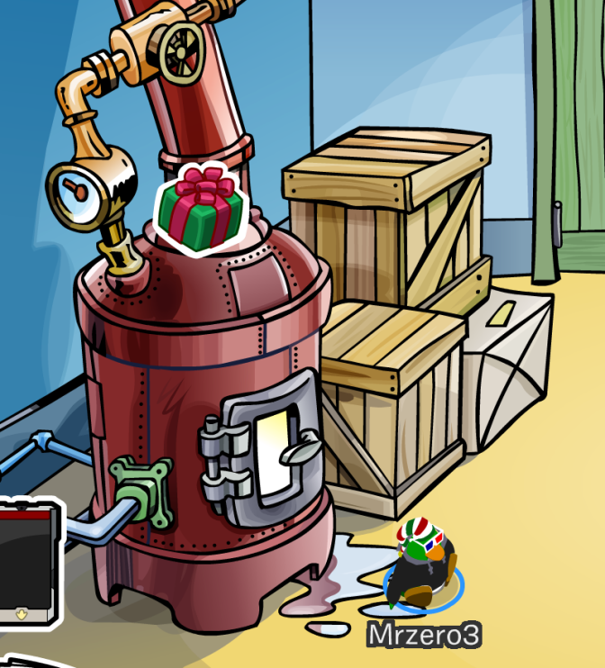 Club Penguin Pin Cheats: Holiday Gift Pin – December 26th 2013