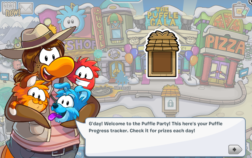 Club Penguin – Puffle Party 2014 Cheats