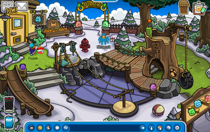 The Puffle Park