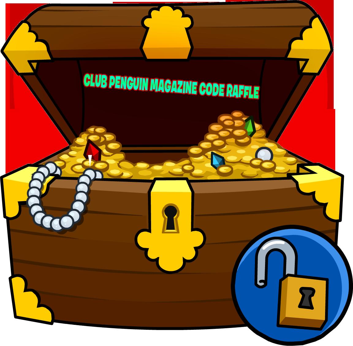 Club Penguin Codes Treasure Chest