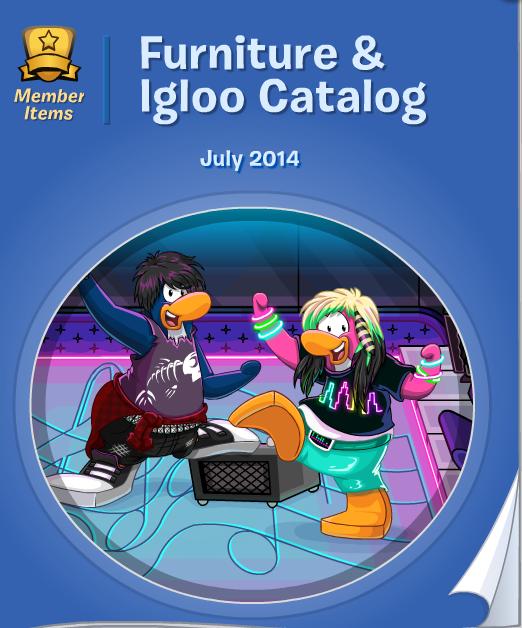 Cp Furniture: Club Penguin Furniture Catalog – July 2014