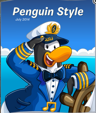 The front cover of the July 2014 Penguin Style Catalogue