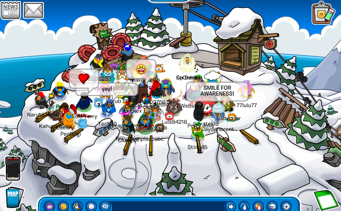 Autism awareness at the Ski Hill