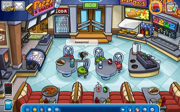 Check out the renovated Pizza Parlour!