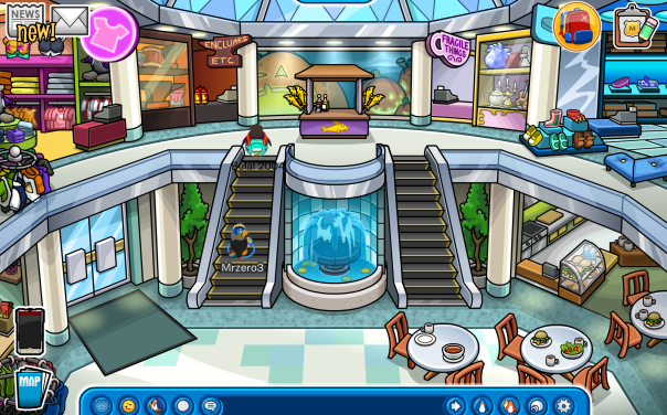Check out the Puffle Berry Mall!