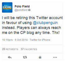 1st Tweet