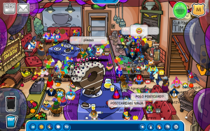 Club Penguin 9th Anniversary Party-Screenshot 8