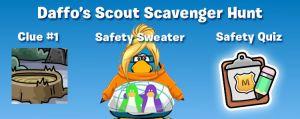 Daffo's Scout Scavenger Hunt
