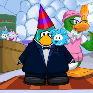 Penguin 43 Profile Picture-Club Penguin 9th Anniversary