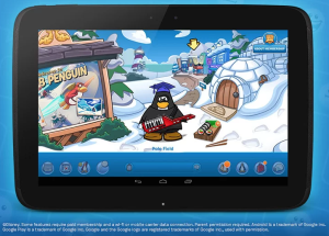 Club Penguin App-Coming Soon to Android