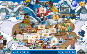 Club Penguin Reveals Holiday Party Screenshot