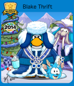 Winner of Club Penguin Reveals Costume Competition (Member)-Holiday 2014