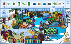 Club Penguin-Star Wars Rebels Takeover Star Ship Igloo-Furniture Bug 1