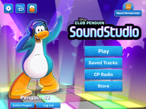 Club Penguin-SoundStudio App Downloaded