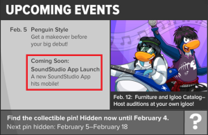 Club Penguin-SoundStudio App is Coming Soon