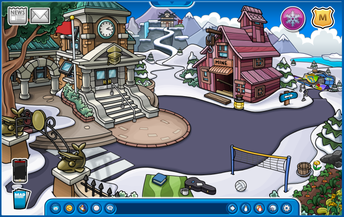 Club Penguin Pins are Getting a Lot Smaller and Hidden a Lot Better