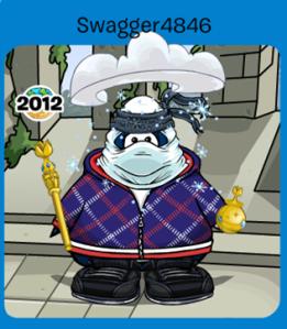 Club Penguin Reveals Autism Awareness Event 2015-Best Blue Outfit (Non-Member)