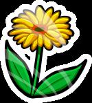 Spring Flower Pin-Cutout