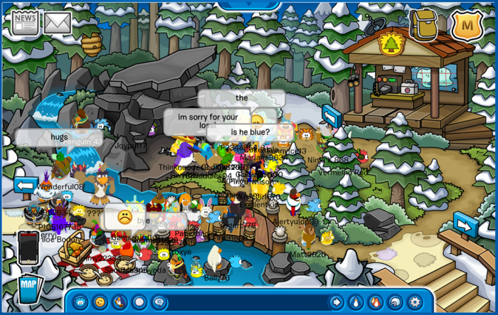 Meeting Sasquatch-Puffle Party 2015