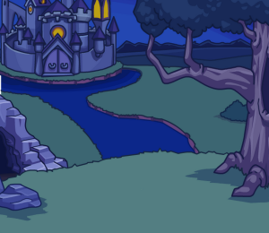 Descendant's Background featuring Castle and Cave