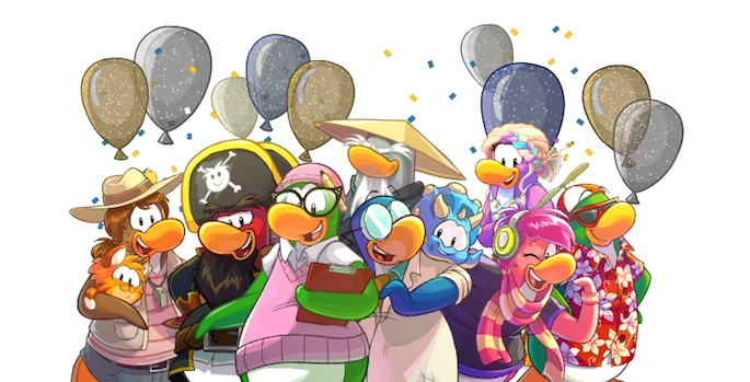 10th Anniversary Party-Mascot Group