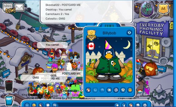 Billybob, another one of the original founders of Club Penguin!